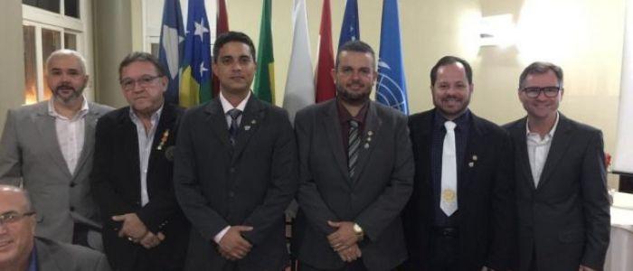 Solenidade festiva marca posse do novo presidente do Rotary Club da cidade de Penedo