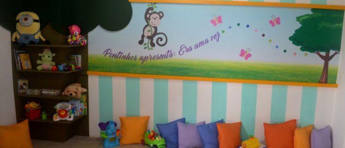 """Em parceria com primeira-dama, brinquedoteca é instalada na """"Pontos e Contos"""" de Penedo"""