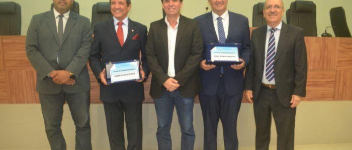 Promotor de Justiça e Secretário de Saúde recebem título de cidadão penedense
