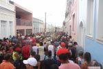 """""""Nata dos músicos"""" desfila pelas ruas de Penedo ao som de muito frevo e com muita alegria"""