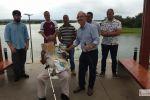 """""""Toinho Pescador"""" é homenageado por sua luta em defesa do Velho Chico"""