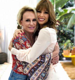 Ana Maria Braga chora com Ana Furtado ao relembrar câncer: 'Veio uma história'