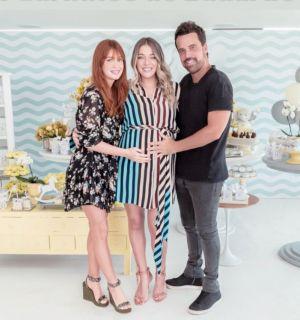 Luma Costa recebe Marina Ruy Barbosa em chá de bebê do 2º filho, Eduardo