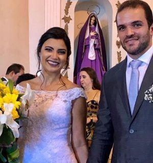 Igor Lerner e Amanda Peixoto selam união em cerimônia realizada em Penedo