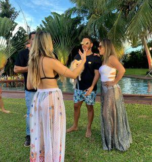 Lucas Guimarães e Leydi Paranhos participam de novo clipe da banda Saia Rodada