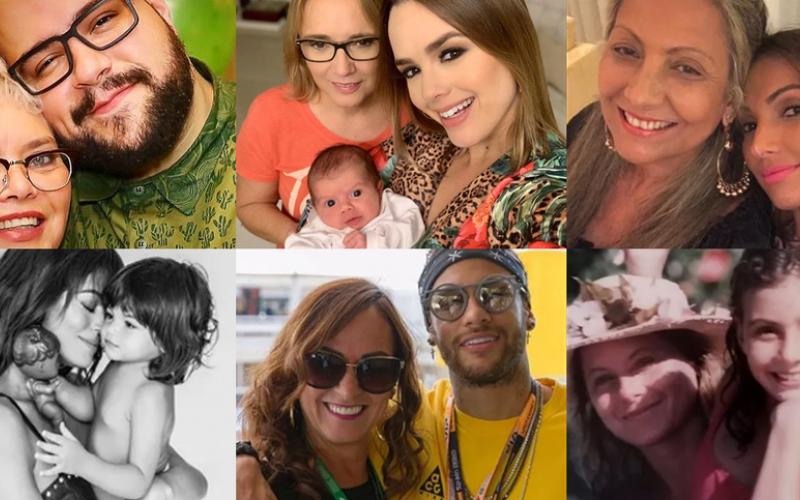 Dia das Mães: famosos celebram data com homenagens
