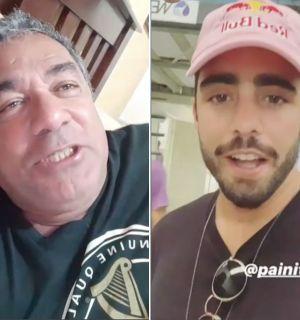 """Pai de Anitta diz que vai surfar com Pedro Scooby e que cantora """"herdou"""" seu bumbum"""