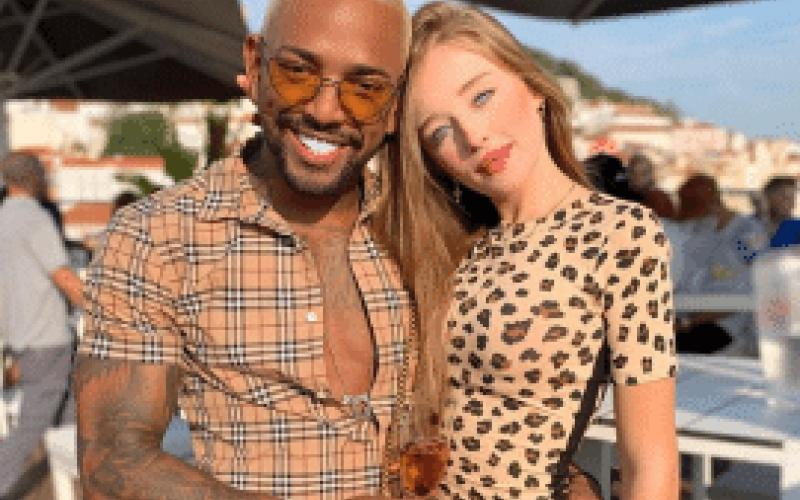 Nego do Borel pede atriz da Globo em casamento durante viagem pela Europa