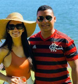 Jaílly Melo e Hugo Monteiro festejam aniversário em Penedo