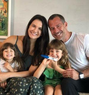 Malvino Salvador e Kyra Gracie anunciam sexo do terceiro filho