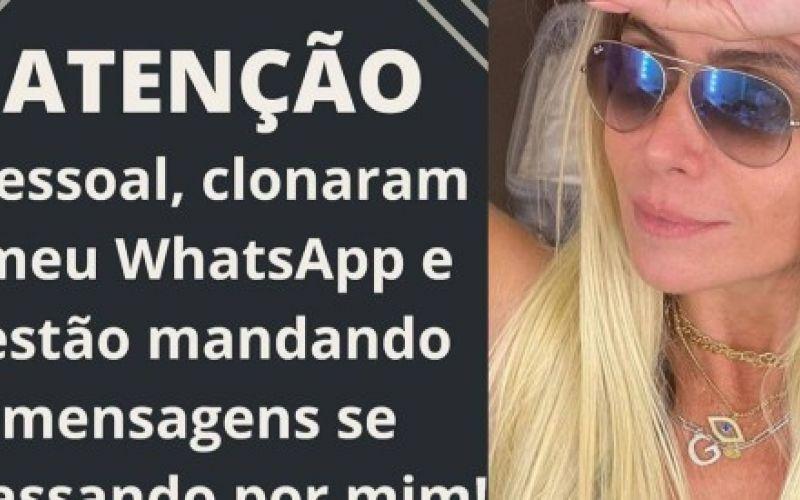 Giovanna Antonelli denuncia golpe usando seu nome no WhatsApp