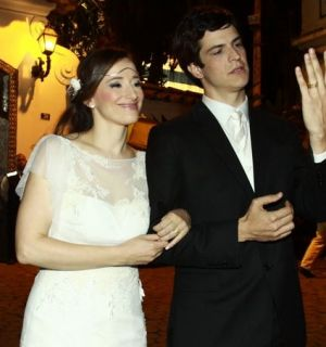 Ator Mateus Solano se casou em hotel no Rio de Janeiro