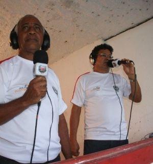 """""""Vulcão"""" e Cerqueira integram equipe de esportes da Penedo FM"""