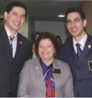 Governadora do Distrito 4390 do Rotary Club visita Penedo