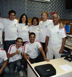 """Equipe de esportes da Rádio Penedo FM é """"Show de Bola"""""""