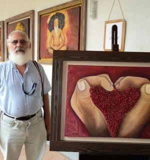 Ortopedista Dr. Machado vira artista plástico nas horas vagas