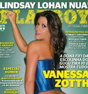 "Revista ""Playboy"" divulga capa  da atriz Vanessa Zotth"