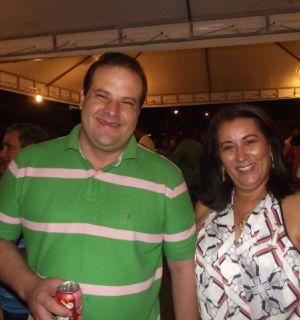 Dalmo Santana e Dra Lúcia comemoram sucesso do Bom Jesus