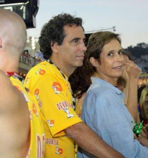 Andréa Beltrão marca presença no Camarote Devassa no Rio