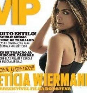 Filha do apresentador Datena é a capa da revista VIP de março