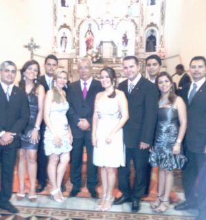 Vice-governador de Sergipe participa de missa em Penedo