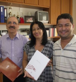 Secretário do CBHSF, Maciel Oliveira, visita Rádio Penedo FM