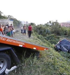 Marcello Antony e a mulher sofrem acidente no Rio de Janeiro