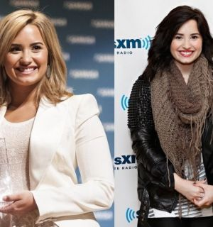 Demi Lovato muda o visual e aparece com cabelo curto e loiro