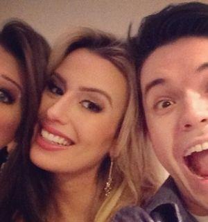 Ex-BBBs Andressa, Fernanda e Nasser voltam a se reunir