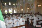 Clero da Diocese de Penedo se reúne em celebração no dia de Nossa Senhora do Rosário