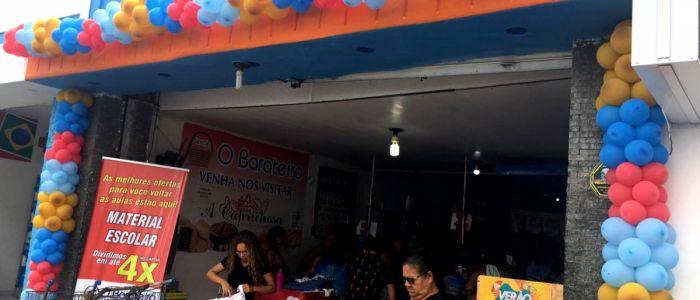 """Com promoções e sorteios, """"Cestão O Barateiro"""" comemorou 17 anos de instalação em Penedo"""