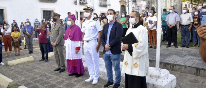 Multidão vai as ruas dar boas-vindas ao novo bispo de Penedo, Dom Valdemir Ferreira