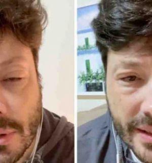 Danilo Gentili assusta fãs ao aparecer com rosto deformado