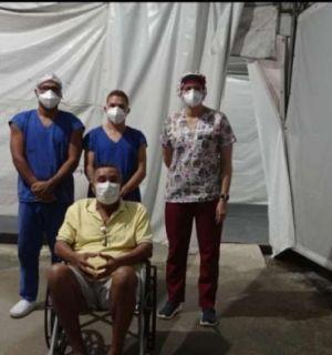 Após oito dias internado por complicações de Covid, Luizão recebe alta
