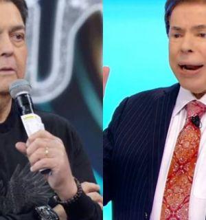 """Ácido, Silvio Santos não poupa Faustão em retorno ao SBT e solta alfinetada: """"Na rua da amargura"""""""