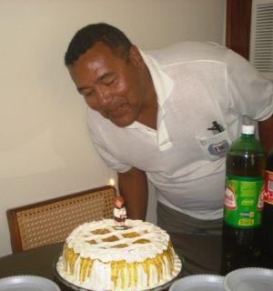 Repórter Luizão completou 62 anos nesta quarta-feira, 26