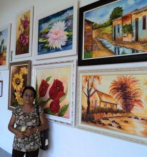 """Lee-ya Fon participa da 12ª Exposição """"Penedo é Arte"""""""
