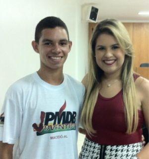 Milton Muniz é juventude ativa na JPMDB de Alagoas