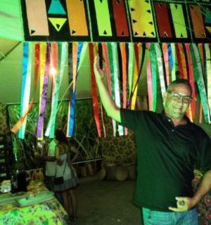 Coordenador de cultura de Igreja Nova participa de evento em Penedo